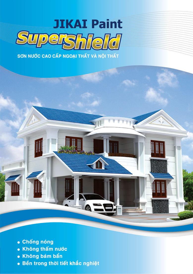 Bảng màu Super Shield