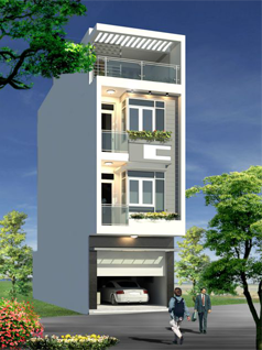 Công trình nhà phố Anh Bình