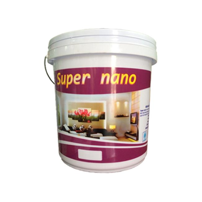 Sơn Nội Thất Cao Cấp Bóng Super Nano 18 Lít