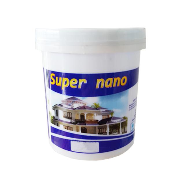 Sơn Ngoại Thất Cao cấp Siêu bóng Super Nano 1 Lít