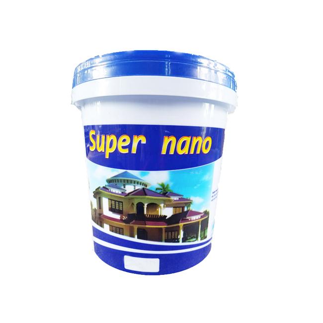 Sơn Ngoại Thất Cao Cấp Siêu Bóng Super Nano 18 Lít